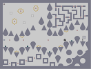 Thumbnail of the map 'Pointy and Round'