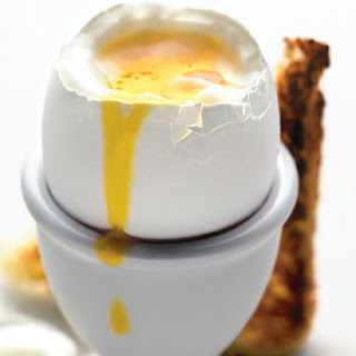 Simple Soft-Cooked Egg with Toast