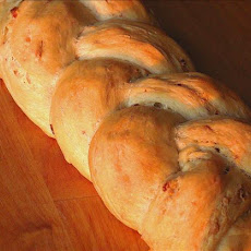 Blue Cheese and Bacon Bread Twist
