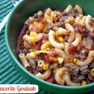 Bobby's Favorite Goulash
