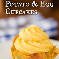 Potato and Egg Cupcakes