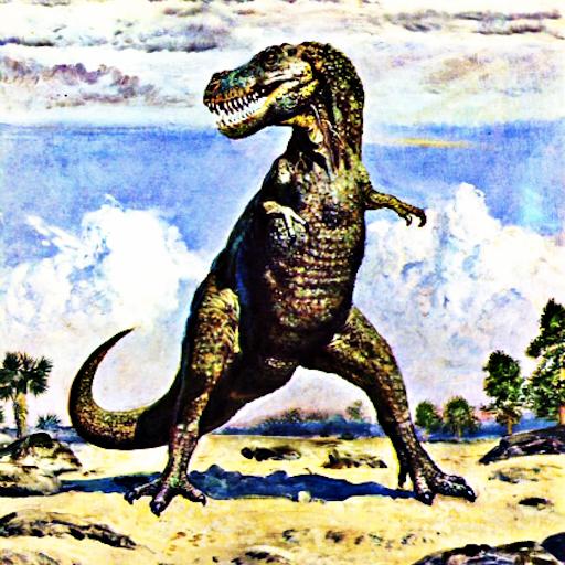 T-REX恐龍的聲音 LOGO-APP點子