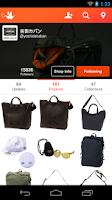 Screenshot of Origami - social shopping
