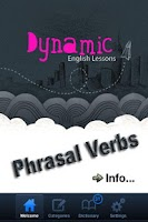 Screenshot of Dynamic English- Phrasal Verbs