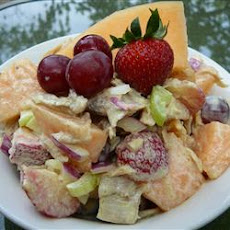 Chicken and Melon Salad