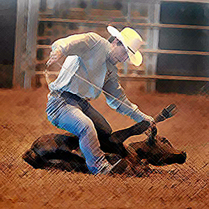 Cover art Calf Roping