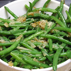 Green Beans w/ Caramelized Shallots