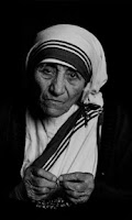 Screenshot of Mother Teresa. Quotes