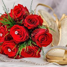 Red & Gold by Trevarri Rademeyer - Wedding Details