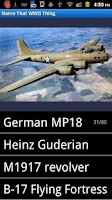 Screenshot of World War 2 Quiz (WWII)