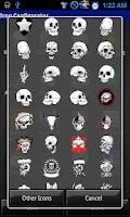 Screenshot of Skulls and More Crazy Home