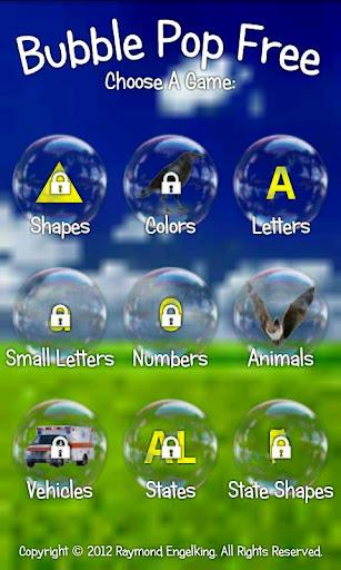 Bubble Pop ABC Kids Game Free