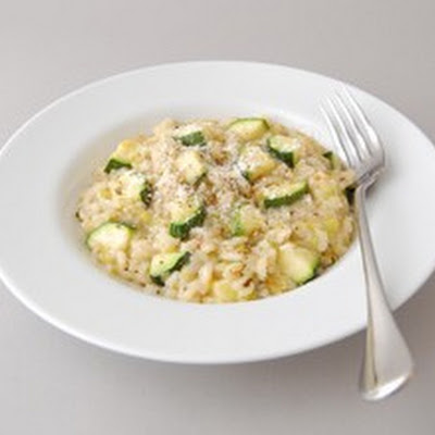 Courgette & Leek Risotto