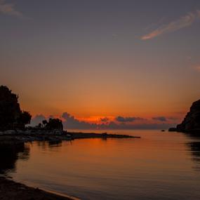 by Selçuk Özkan - Landscapes Sunsets & Sunrises ( water, reflection, sunset, sea )