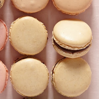 Toasted Hazelnut and Chocolate Macarons