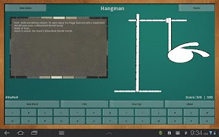 Screenshot of Hangman: Play - Learn - Enjoy