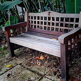 Garden bench by Janette Ho - Artistic Objects Furniture ( public, bench, furniture, object )