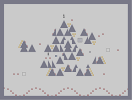Thumbnail of the map 'I feel waves of nostalgia at night in the geometric forest.'