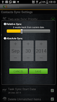 Screenshot of SyncRoid - Outlook Sync Lite