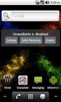 Screenshot of Unavailable