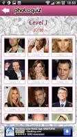 Screenshot of Photo Quiz Celebrity