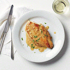 Pan-Seared Chicken Breast with Rich Pan Sauce