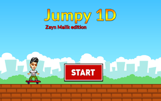 Screenshot of Jumpy 1D - Zayn Malik Edition