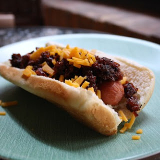 Leftover Chili Dogs