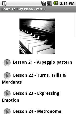 Learn To Play Piano - Part 2