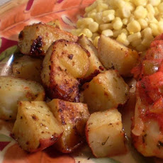 My Greek Lemon Garlic Potatoes