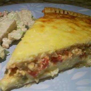 Fresh Green Chile Quiche