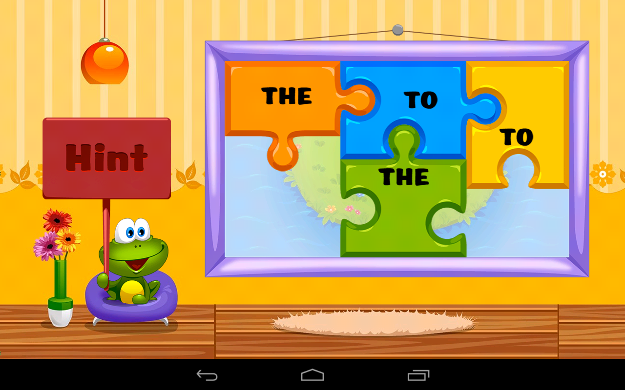 Kids Reading Sight Words Screenshot 9