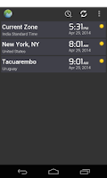 Screenshot of Time Zone Converter