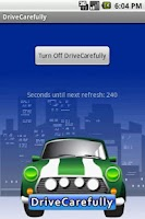 Screenshot of DriveCarefully