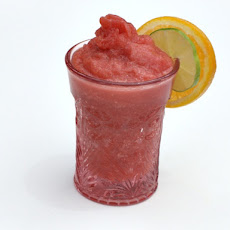 Zero Proof: Strawberry Watermelon Summer Slush