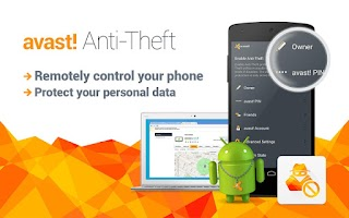 Screenshot of avast! Anti-Theft