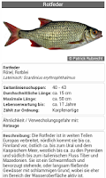 Screenshot of Fischbestimmung FishFinder 3.0