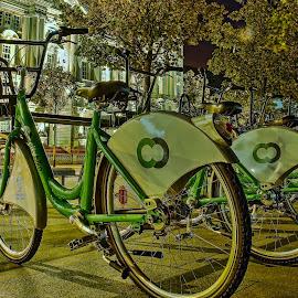 CITY BIKES by Derek Tomkins - Transportation Bicycles
