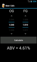 Screenshot of Beer Calc