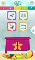 Screenshot of لمسة: قصص, تلوين, ألعاب