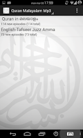 Screenshot of Quran Malayalam mp3 & download