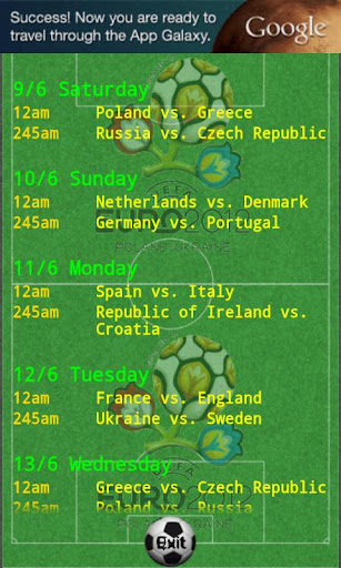 Euro 2012 TV for Asia