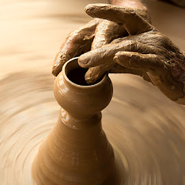 The shaping Hands by Rakesh Syal - People Body Parts (  )