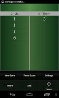 Screenshot of Truco Score Board