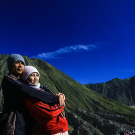 Love in Bromo by Zaky Faster - People Couples