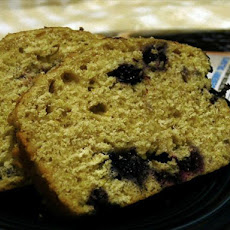 Blueberry-Cornmeal Loaf Cake