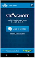 Screenshot of Stringnote MyIdeas in Evernote