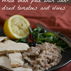Mediterranean-style White Bean Pâté With Sun-dried Tomatoes And Olives