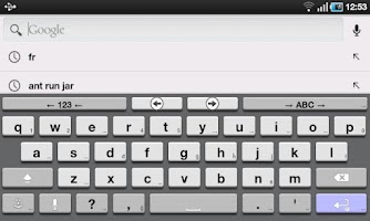 Screenshot of AnySoftKeyboard 3D Theme
