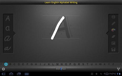 Learn English Alphabet for Tab